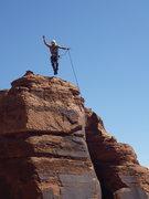 Rock Climbing Photo: YA-HOOOO