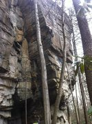 Rock Climbing Photo: CT on FOTG 3/23/14