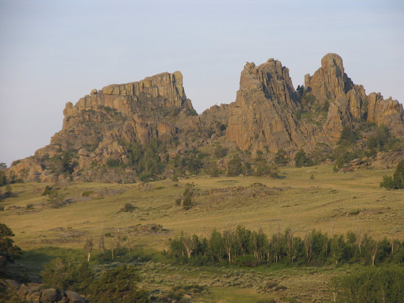 Bear Rock as seen from the southeast.