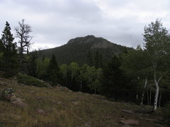 Rock Climbing Photo: Buffalo Peak as seen from the southwest.