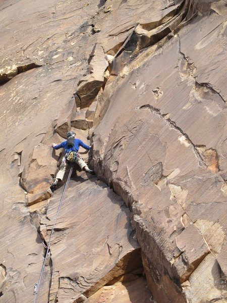 Rock Climbing Photo: Alex, p1