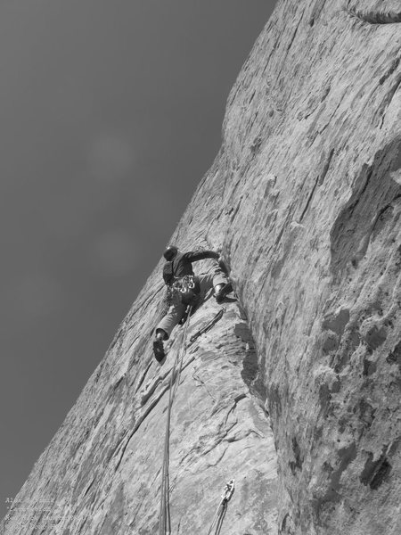 Rock Climbing Photo: Alex p7