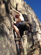 Rock Climbing Photo: Proving that it is entirely possible to climb this...