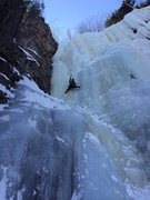 Rock Climbing Photo: Dracula Left. Climber: Kevin Shon. Photo: Nathan V...