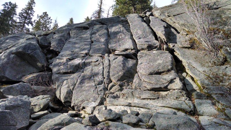Rock Climbing Photo: Roto Wall.