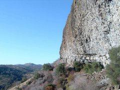 Rock Climbing Photo: Left side of Jailhouse