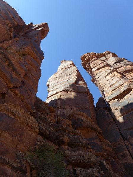 Rock Climbing Photo: Lighthouse Tower (left)