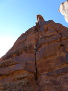 Rock Climbing Photo: party from SLC on P1