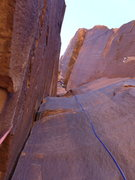 Rock Climbing Photo: Vanya on the stellar P2