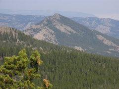 Rock Climbing Photo: Buck Mountain as seen from Buffalo Peak.