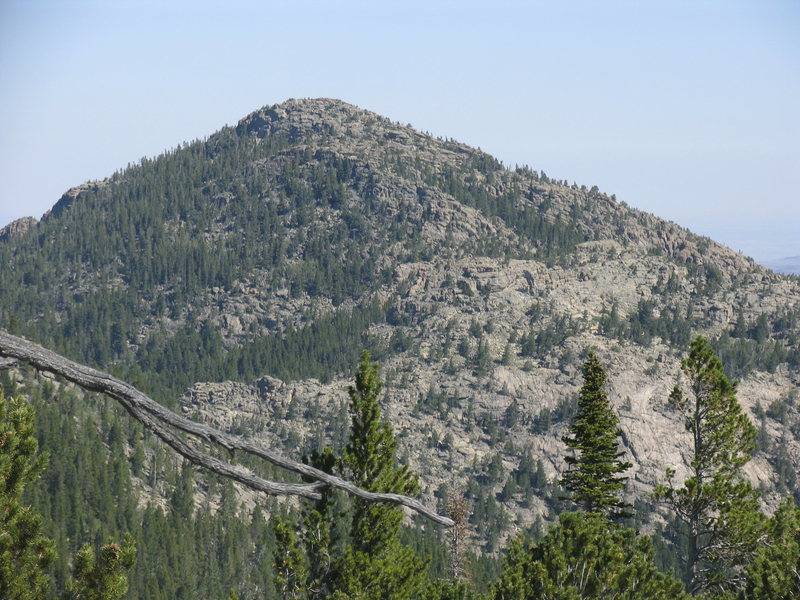Buck Mountain as seen from 8970 about 1 1/2 miles south.