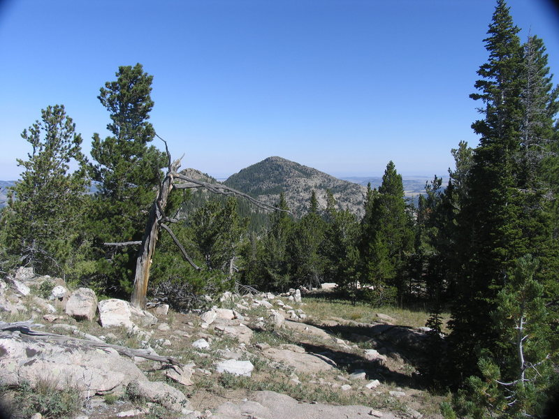 Buck Mountain as seen from Cherry Mountain.