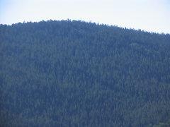 Rock Climbing Photo: The summit ridge of Cherry Mountain as seen from t...