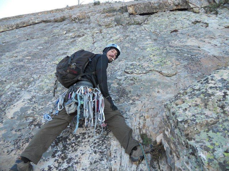 Rock Climbing Photo: Mt. Olympus