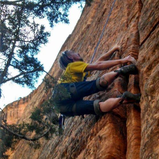 Rock Climbing Photo: Just another jam