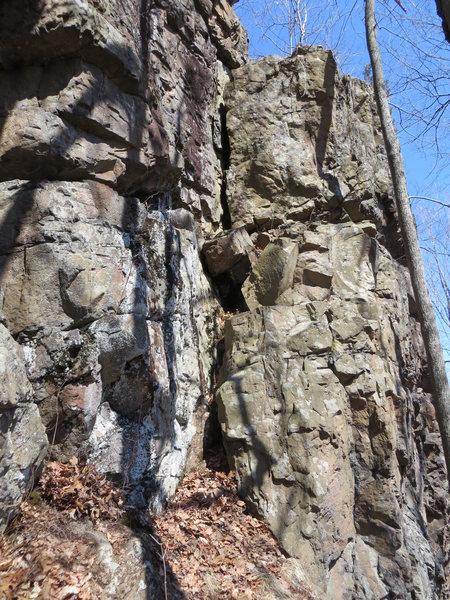 Rock Climbing Photo: Shorthanded