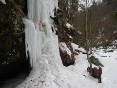Rock Climbing Photo: Jeff's Wet Dream, 4-
