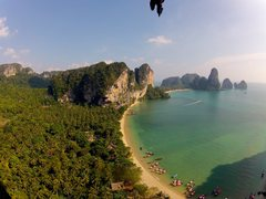"""Rock Climbing Photo: Looking down onto Tonsai from """"Heart of Darkn..."""