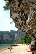 Rock Climbing Photo: Sand to Stone at Tonsai