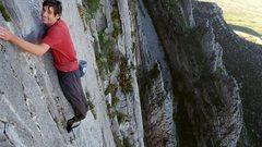 Rock Climbing Photo: Alex Honnold on Sendero luminoso
