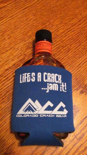 Rock Climbing Photo: Colorado Crack Gear Coozie