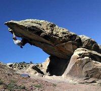 Rock Climbing Photo: Millenium Falcon.