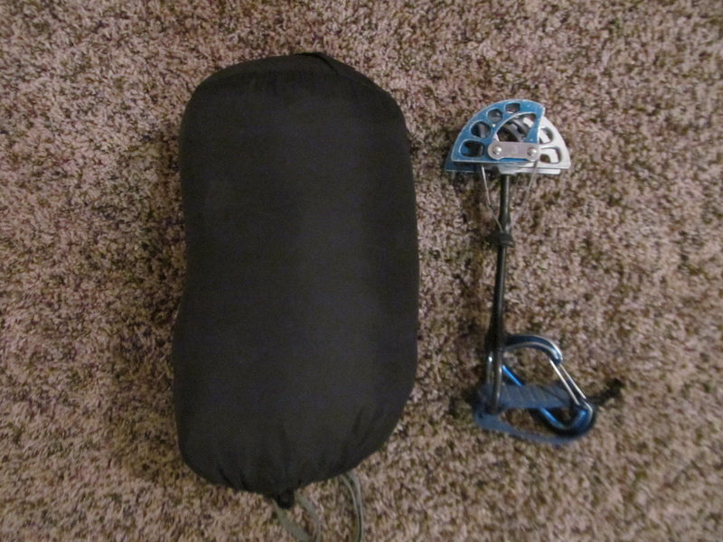 Rock Climbing Photo: Modified Bivy Bag