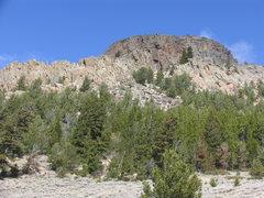 Rock Climbing Photo: Point 8830 on Camelback Mountain's connecting ridg...
