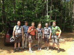 Rock Climbing Photo: The AMC gang hiking back