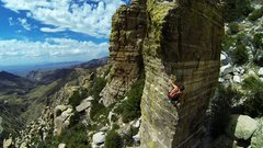 Rock Climbing Photo: Aerial View