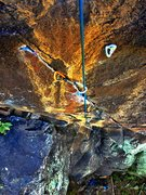 Rock Climbing Photo: Green Point Easily protect-able with small wires i...
