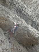 Rock Climbing Photo: Right before the crux