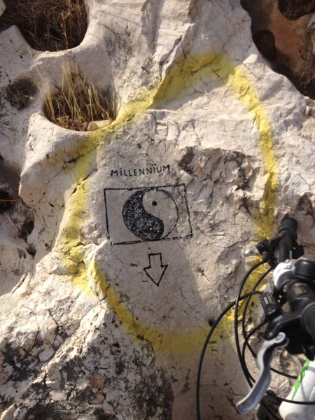 Rock Climbing Photo: Marker on your left heading up the road, find the ...