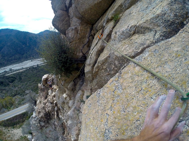 The awesome Traverse. Best part of the route