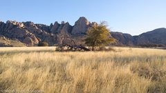 Rock Climbing Photo: View of the sheepshead from the camping area.  The...