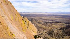Rock Climbing Photo: View from the 4th pitch belay.