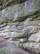 Rock Climbing Photo: This picture is taken from the East side and on th...