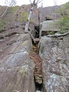 Rock Climbing Photo: Ancient Way