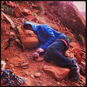 Rock Climbing Photo: Hence the name...