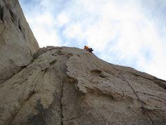 Rock Climbing Photo: Kazu on pitch 2 of Santa Cruz.