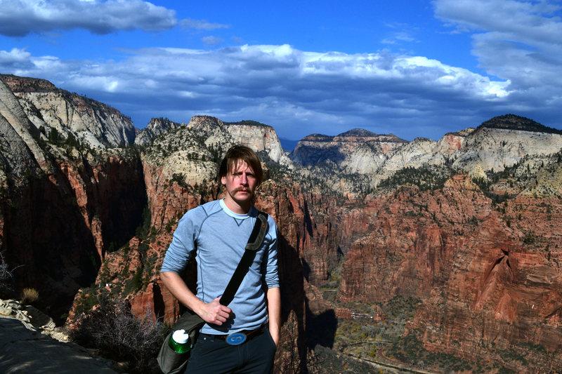 Rock Climbing Photo: me zion