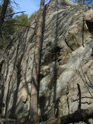 Rock Climbing Photo: Hemlock Ledges - right (tallest) side