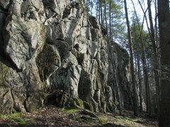 Rock Climbing Photo: Hemlock Ledges - looking towards the right side