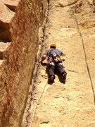 Rock Climbing Photo: Great crack, easy pro whenever you want to place i...