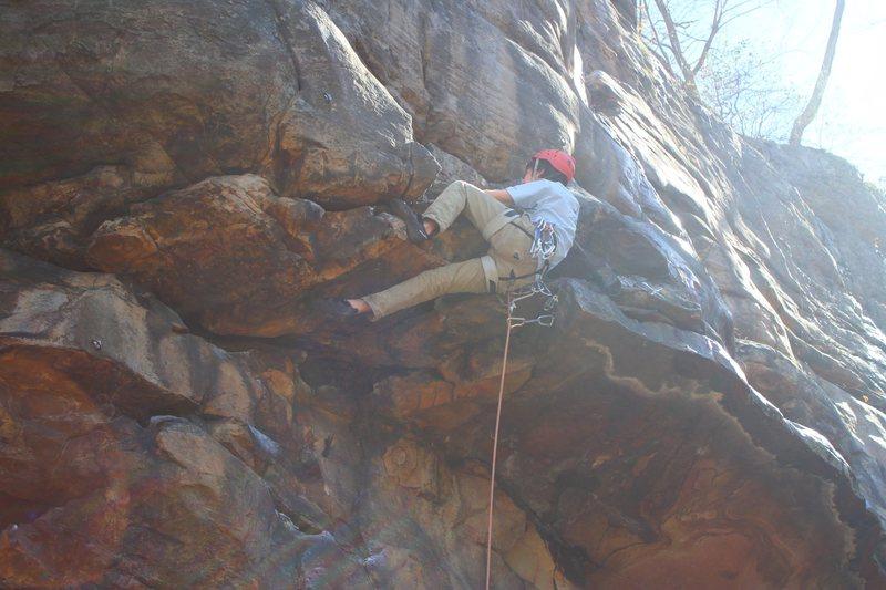 Rock Climbing Photo: the new