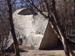 Rock Climbing Photo: Fat Albert Gang v3