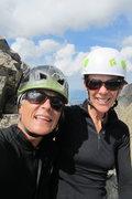 Rock Climbing Photo: Up on the El Diente/Wilson traverse