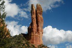 Rock Climbing Photo: Oak Creek Spire.