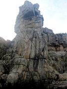 Rock Climbing Photo: Below the tower