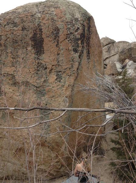 Rock Climbing Photo: Main Boulder Arete